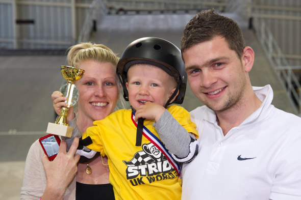 Meet the PUSH-BIKE parents! BMX racing for toddlers is latest sports craze