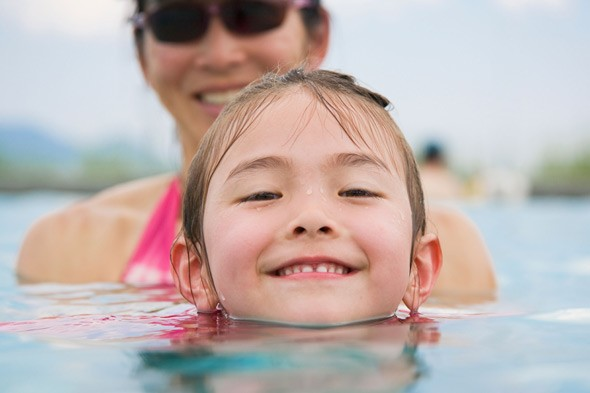 When should your child start to learn to swim