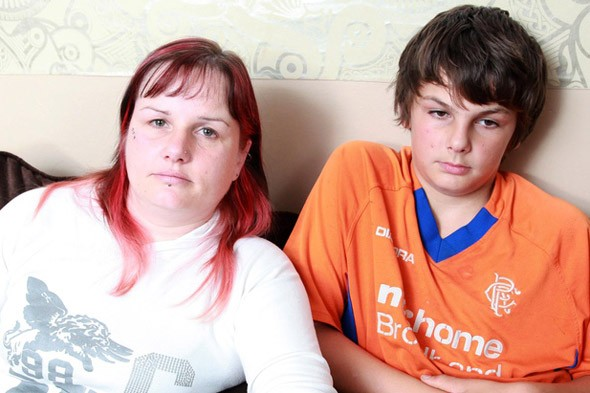 Boy, 12, refuses to go to school - and his mum says he's 'too big' to force him