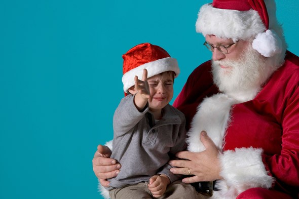 Is your child scared of Santa?