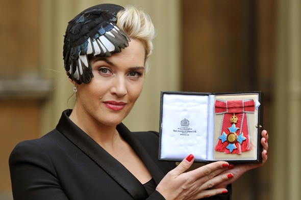 The Queen tells Kate Winslet being a mum is 'the best job'. Former Apprentice star Katie Hopkins begs to differ