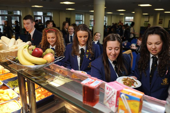 Ban kids from leaving school at lunchtime and buying junk food demand parents