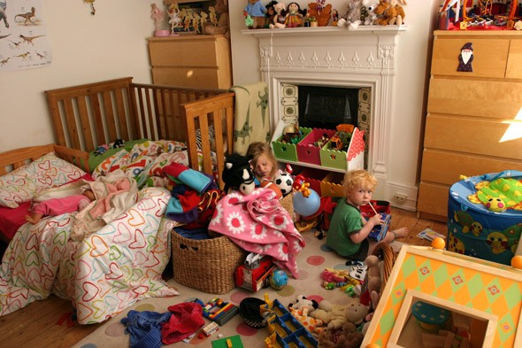 A eye-watering £1,200 - that's the value of toys in our children's bedrooms!