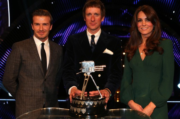 Pregnant Duchess of Cambridge, David Beckham and Sports Personality of the Year Bradley Wiggins