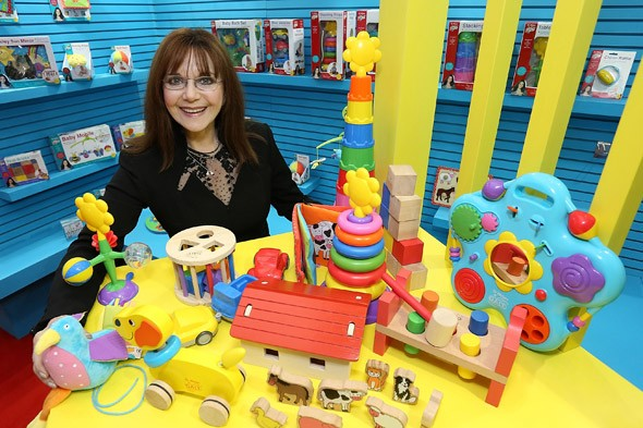 Miriam Stoppard launches new toy range