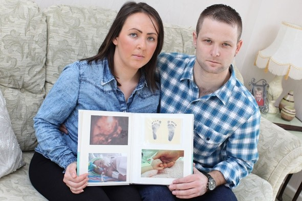Baby died after mum was forced to tell midwives umbilical cord was wrapped around her neck