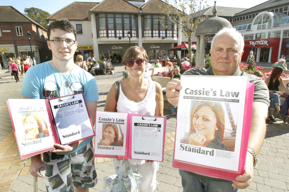 Tragic mum's victory: 'Cassie's Law' to stop frail unfit drivers taking the wheel