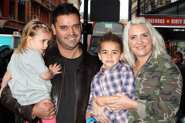 Claire Richards pregnant next year? Hubbie Reece hope to add to their brood in 2014!
