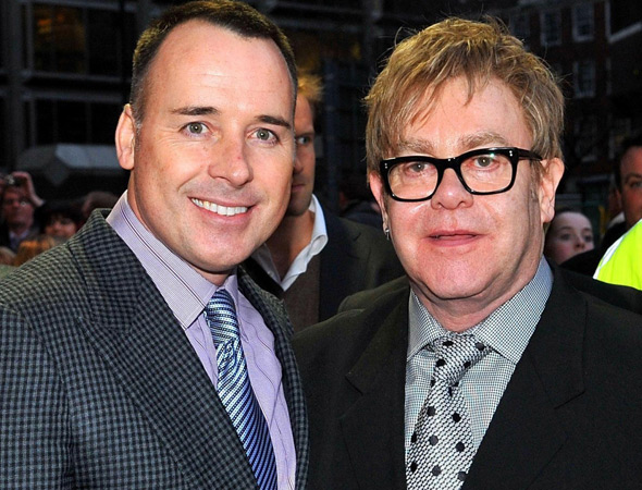 Sir Elton John and David Furnish 'have had a second baby' by surrogate