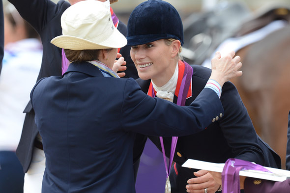 Thanks mum! Zara Phillips and Mike Tindall move in with Princess Anne
