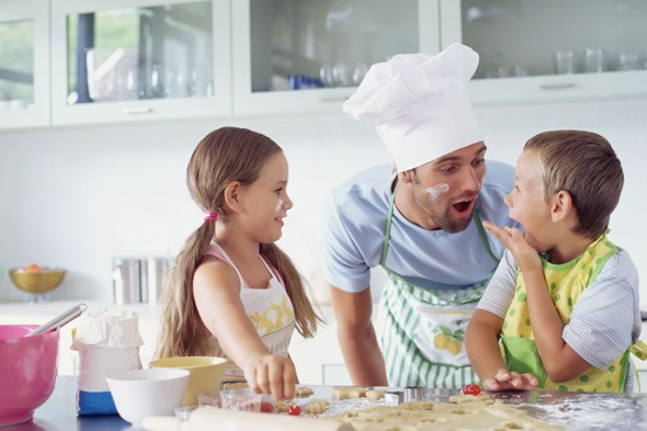 The House Dad Chronicles: It's time to get all our kids cooking at school