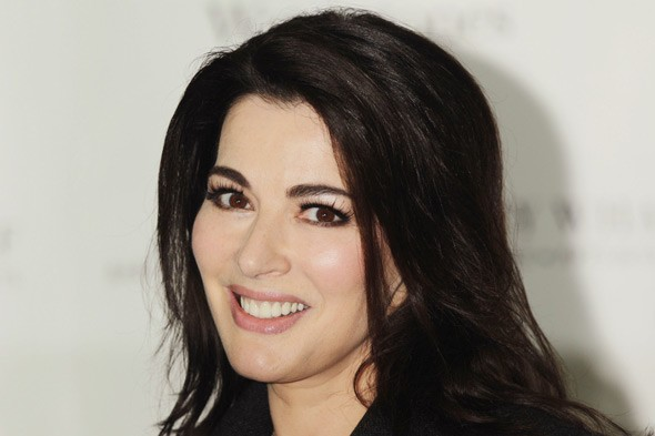 Nigella Lawson reveals her self-doubts and describes her bubbly on-screen persona as a 'circus act'