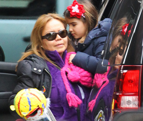 Does Suri Cruise have a body double?