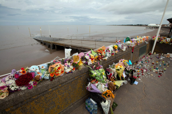 Parents of four-year-old who died after being swept out to sea tell inquest how they battled to save him