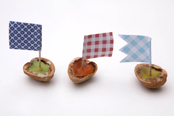 Red Ted Art makes: Walnut boats