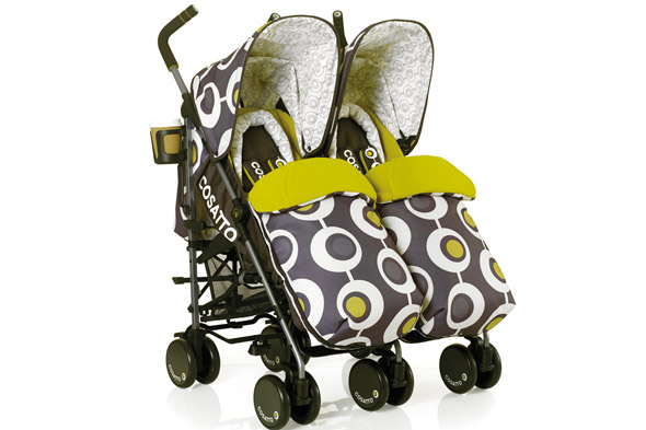 WIN a Supa Dupa double stroller from Cosatto worth £300!