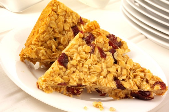 Triangular flapjacks banned at school after oaty snack injures boy