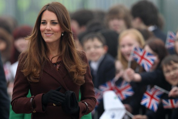 Did the Duchess of Cambridge reveal she's expecting a daughter?