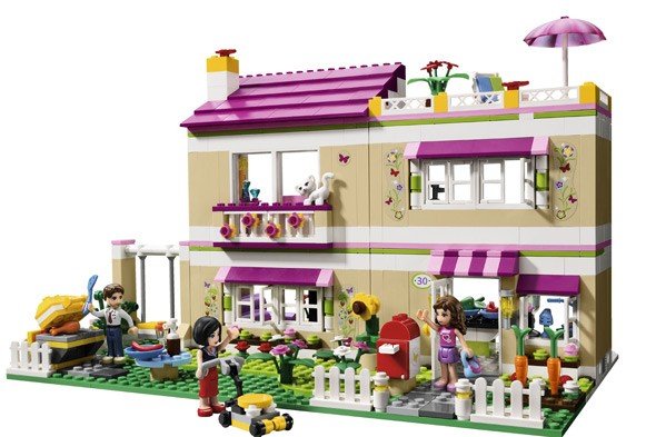 Pink Lego to blame for girls lack of interest in science, says TV boffin