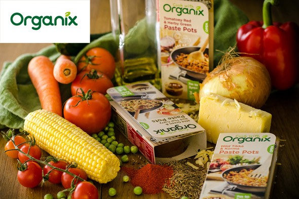 WIN Cook with Organix goodies and a £50 Waitrose voucher!