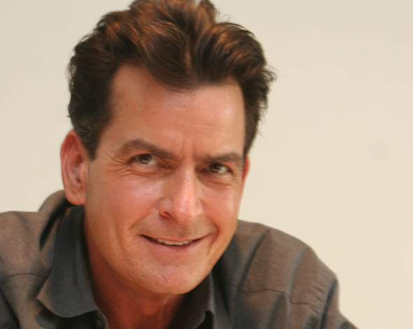 Charlie Sheen urges fans to send dog poo to school where daughter was bullied