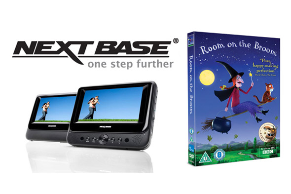 WIN an in-car DVD player and Room on the Broom on DVD!