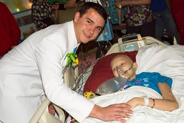 School prom comes to dying girl's hospital bedside to fulfill her bucket list wish