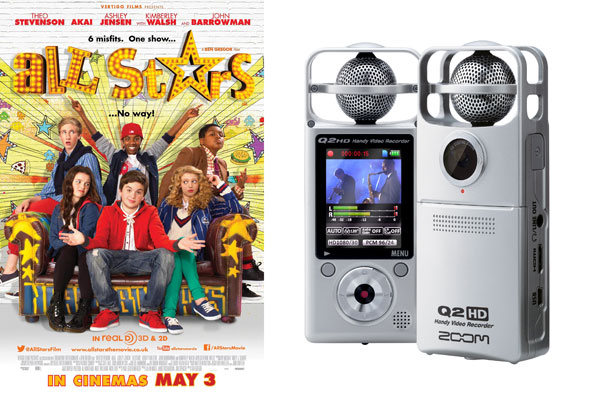 WIN a Zoom HD camera with All Stars - in cinemas 3rd May!