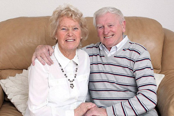 Teenage first loves finally tie the knot - in their 70s