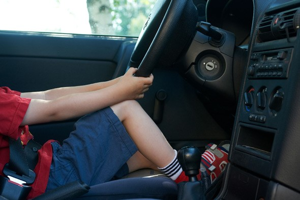 Six-year-old boy drove dad's car three miles for Chinese food
