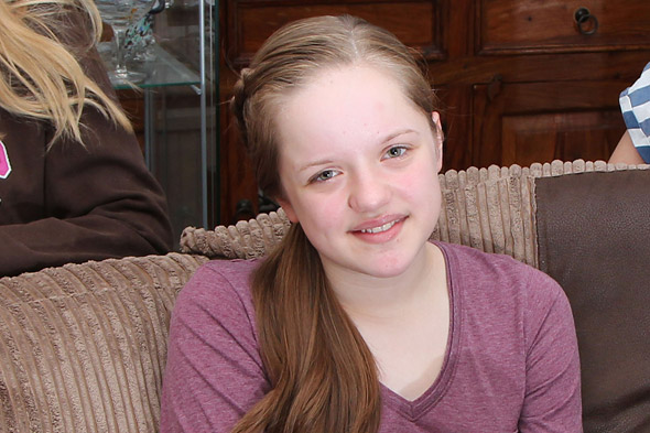 Make hic stop! Emily, 13, has had hiccups every two seconds for 10 weeks