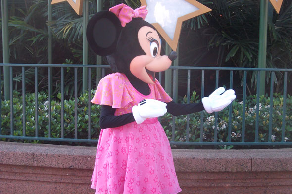 Minnie Mouse at Disney Orlando