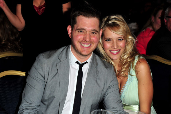 Michael Bublé's hopes his unborn son will 'be the next David Beckham!'