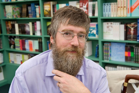 Children's author Philip Ardagh talks bushy beards and the best bits about writing