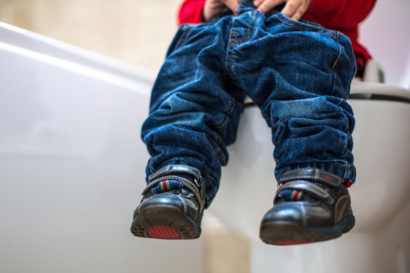 Figuring Out Fatherhood: Potty training - easier said than done