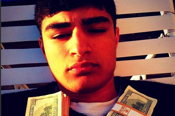 Meet Lavish - the money-obsessed teen who loves to boast about his wealth