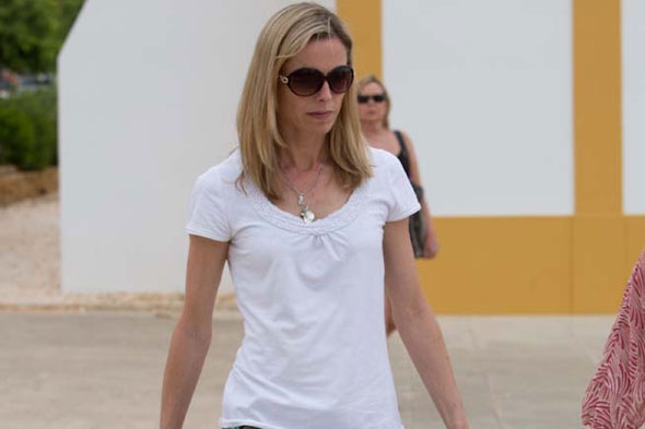 Kate McCann visits Portugal and reveals fresh hopes for Maddie after release of Cleveland kidnap victims