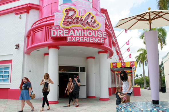 Experience life as Barbie in this life-size doll house