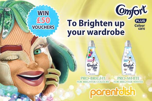 WIN a high street voucher with Comfort Brights!