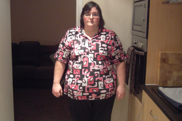 Mum 'too fat to have baby' has TRIPLETS after losing 12 stone