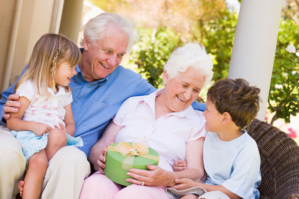 Why should seeing grandparents be a chore?