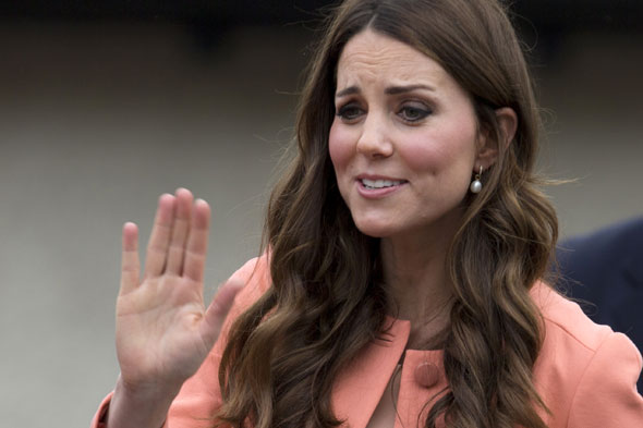 Moses baskets are go! Kate causes wicker crib buying frenzy at Asda