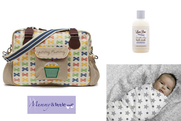 WIN a Pink Lining changing bag and other goodies from Mummy & Little Me!