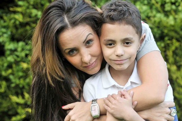 Mum spends £20,000 on designer clothes for son, 8, to make him more popular at school