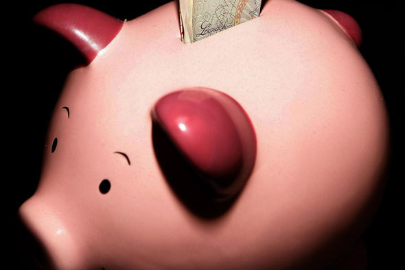 Baby's piggy bank robbed by callous house burglars