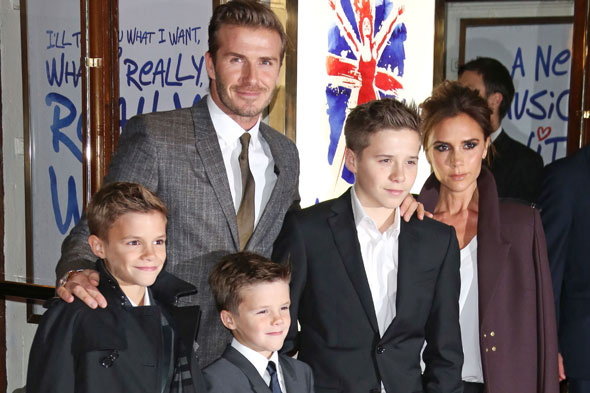 Becks? Elton? Marvin? Shortlist for Celebrity Dad of the Year is revealed