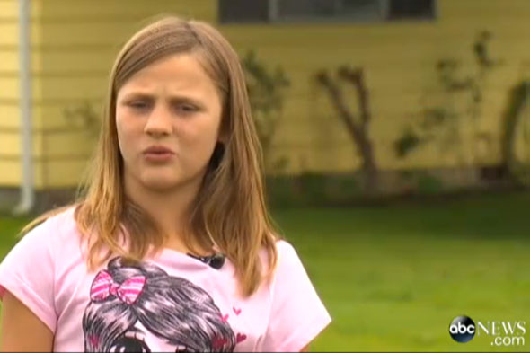 Brave 10-year-old girl rescues toddlers from collapsing bouncy castle