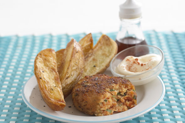 Annabel Karmel's Quick & Easy Toddler's Cod and Salmon Fishcakes