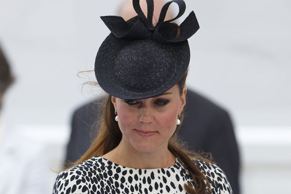 Kate Middletonpulls out of wedding amid labour fears