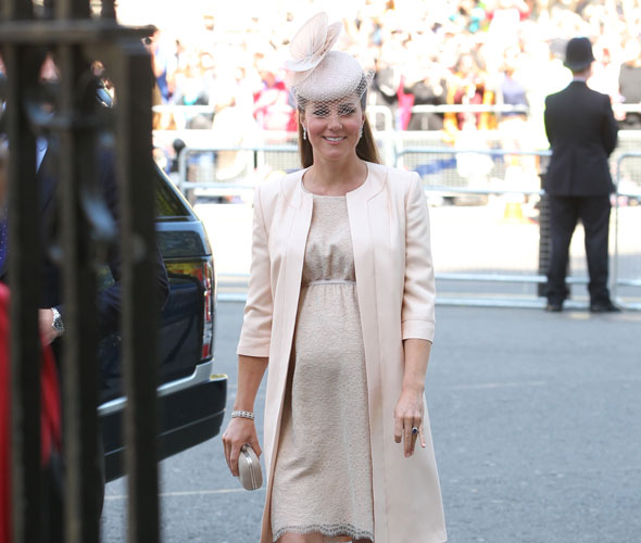 Kate Middleton pregnant: Duke and Duchess of Cambridge attend Queen's coronation anniversary